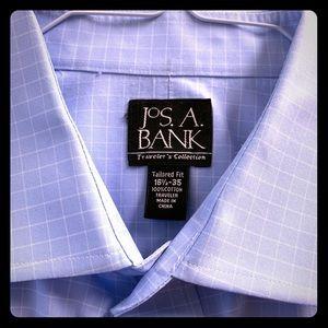 Jos. A. Bank Spread Collar Dress Shirt
